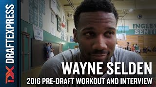 Wayne Selden Interview and Highlights from NBA Pro Day