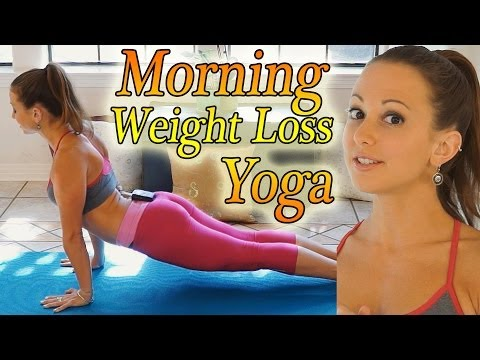 Morning Yoga For Weight Loss – 20 Minute Workout Fat Burning Yoga Meltdown Beginner & Intermediate
