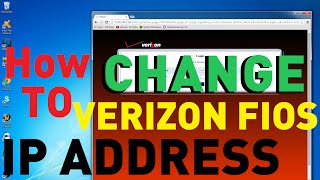 This is how to get a new IP address with Verizon FIOS Actiontec routers.  If you are getting DDOS or slow connection this will fix it without calling Verizon.  Takes some time but it will get you up and running.  Router Model Number MI424WR. Works with FIOS Quantum.