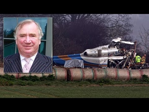 Helicopter Crash,  N Ireland's Richest Man Dies