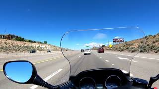 3. Yamaha Majesty 400 Freeway Ride and Top Speed