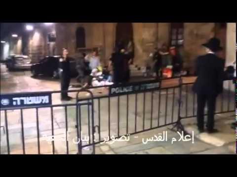 إصابة 5 صهاينة طعناً وبالرصاص على يد شاب فلسطيني في #القدس