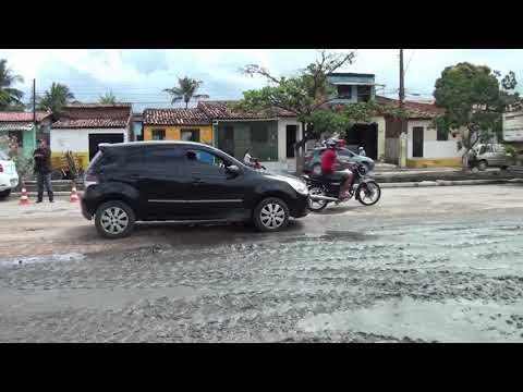 Dique Estrada recebe obras de drenagem e pavimentação