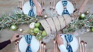 Inspirasi Dekorasi Menata Meja Makan Tema Rustic Modern