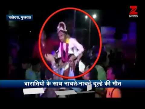 Groom died while dancing in baraat at Vadodara