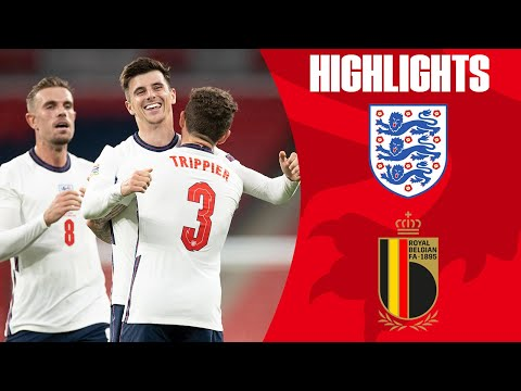 England 2-1 Belgium | Mount Seals Comeback Win To Top Group | UEFA Nations League | Highlights