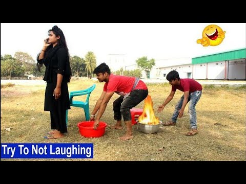 Must Watch New Funny 😂 😂 Comedy Videos 2019 - New Village Funny Video || Funny Videos || RS TV