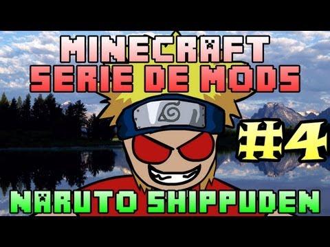 Minecraft | NARUTO SHIPPUDEN | Serie de MODS - Ep#4 | La guarida del Primer BOSS