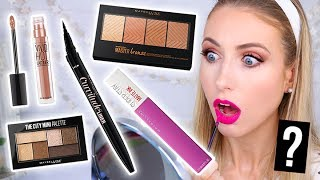 Testing NEW DRUGSTORE Maybelline MAKEUP Launches!    5 First Impressions by Rachhloves