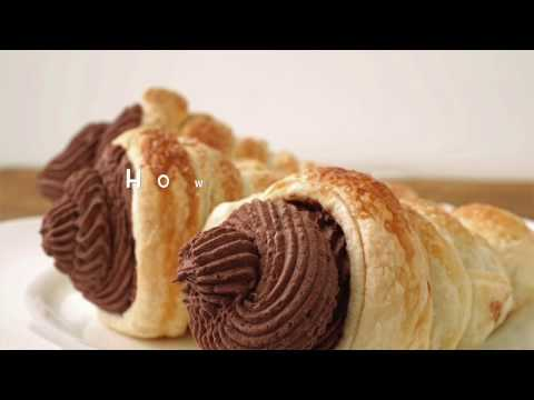 How To Make Cream Horns! Easy Puff Pastry Ideas!