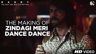 "Presenting you the making of retro time's 'Zindagi Meri Dance Dance'from the upcoming Bollywood movie ""Daddy"". Starring Arjun Rampal and Aishwarya Rajesh. This movie is unfolding jigsaw puzzle, told from different points-of-view and spanning over four decades, Daddy is an unforgettable excursion into the Mumbai underworld.Watch 'DADDY' in cinemas on 8th SeptemberSong - Zindagi Meri Dance DanceSingers – Alisha Chinai & Vijay BenedictMusic Recreated By– OlefonkenMusic – Bappi LahiriLyrics - Anjaan___Enjoy & stay connected with us!► Subscribe to T-Series: http://bit.ly/TSeriesYouTube► Like us on Facebook: https://www.facebook.com/tseriesmusic► Follow us on Twitter: https://twitter.com/tseries► Follow us on Instagram: http://bit.ly/InstagramTseries"