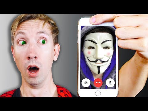 CALLING The HACKERS iPHONE and Exploring Abandoned Mystery Evidence (YouTube Hacker FaceTime)