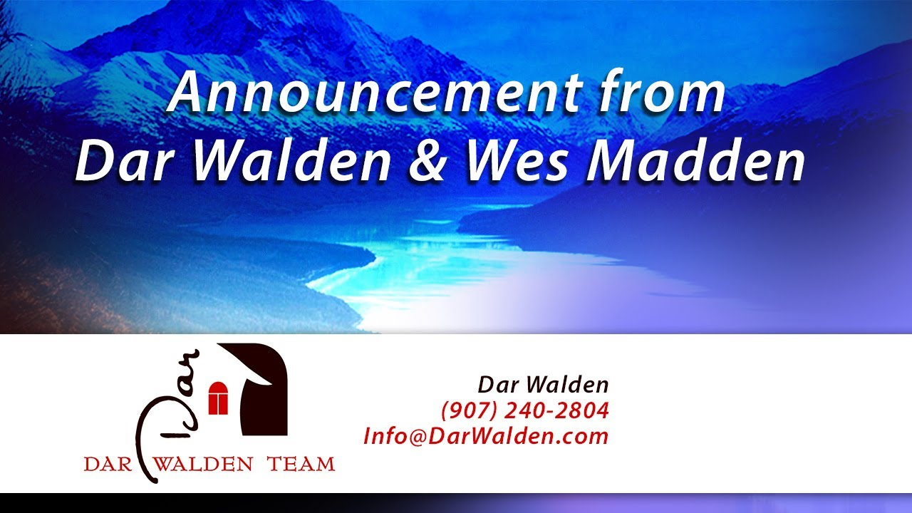 An Exciting Message From Dar Walden & Wes Madden