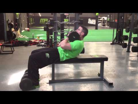 Flat Bench Weighted Full Situp