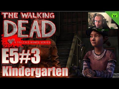 TWD S02E05 # 3 - Kindergarten «» Let's Play The Walking Dead No Going Back   HD