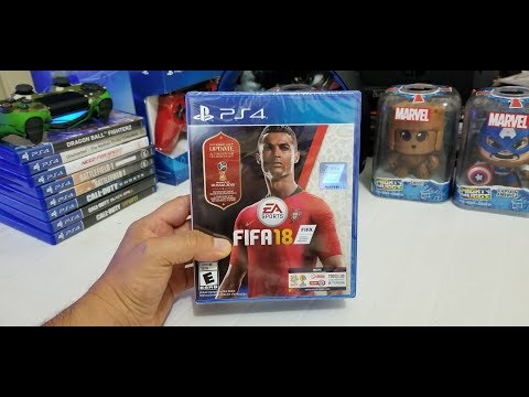 UNBOXING FIFA18 WORLD CUP RUSSIA 2018