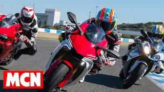 6. 2015 Yamaha R1 better than BMW S1000RR and rivals? | Group Test | Motorcyclenews.com