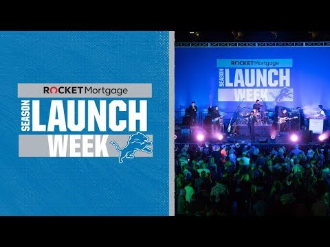 Lions host Rocket Mortgage Season Launch Week