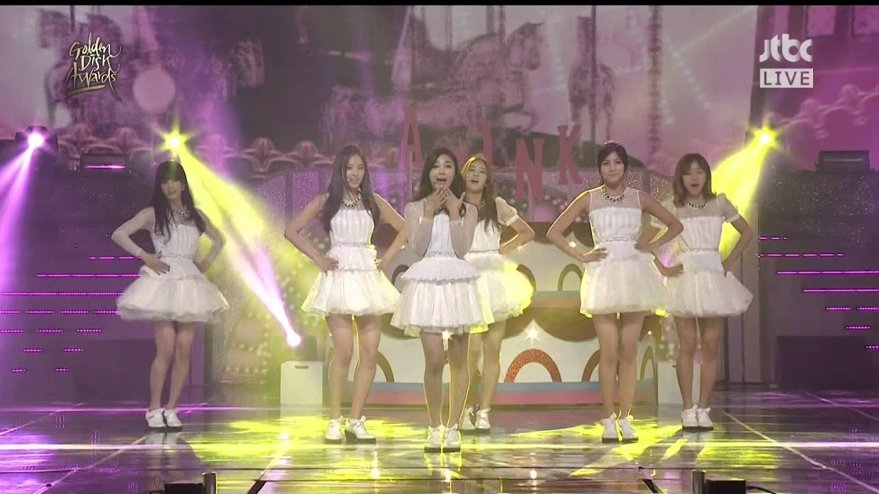 140116 A Pink – NoNoNo @ JTBC 28th Golden Disk Awards [1080P]