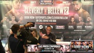 LIVE! Cleverly V Bellew 2 FINAL Press Conference From The ACC Liverpool