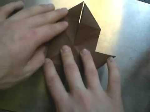 Оригами - Летучая мышь
