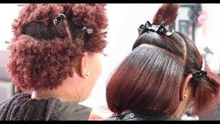 Video Silk Press on 4Z Natural Hair LOL #SalonWork MP3, 3GP, MP4, WEBM, AVI, FLV Juli 2019