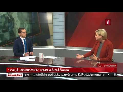 """Veselības ministres Andas Čakšas saruna LTV raidījumā """"Rīta Panorāma"""""""