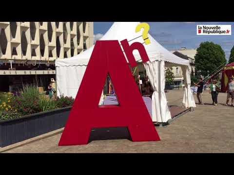 VIDÉO. Parthenay : les artistes du Festival Ah ? dans la rue