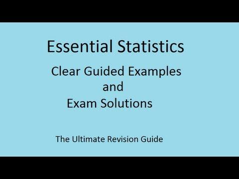 Hilfreich für GCSE Mathematics Revision - Wie die mittleren oder durchschnittlichen leicht zu finden