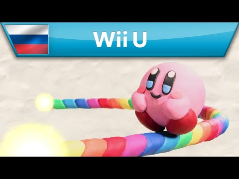 Kirby and the Rainbow Paintbrush — трейлер (Wii U)