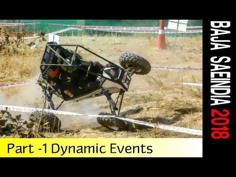 Mahindra BAJA SAEINDIA 2018 | Full Coverage  Dynamic Events | Part 1 of 2