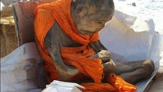 """A mysterious mummified monk found almost perfectly preserved in a lotus position last month is causing controversy after a well-known Buddhism expert claimed he isn't actually dead but in a deep meditative trance.Interestingly, the monk came to the attention of the authorities after a man was attempting to sell him on the black market in the Songinokhairkhan province of Mongolia. Mongolian police have arrested the man, and the mummy is now being guarded at the National Center of Forensic Expertise at Ulaanbaatar. They believe that the man might have stolen the mummy from another part of the country – a cave in the Kobdsk region – and then hid it in his home. Scientists are currently conducting forensic examinations on the 200-year-old mummy that was found wrapped in cattle skins. They are trying to determine how the body was so well-preserved, although they do suspect that the nation's cold weather could have played a part.Dr. Barry Kerzin, a physician to the Dalai Lama, told the Siberian Times that the monk isn't actually dead, but in a rare state of meditation known as 'tukdam'. He explained that if a person manages to achieve the state and remain in it for more than three weeks, the body starts to shrink very, very slowly. In the end, all that will remain of the person are the hair, nails and clothes. """"Usually in this case, people who live next to the monk see a rainbow that glows in the sky for several days. This means that he has found a 'rainbow body'. This is the highest state close to the state of Buddha.""""""""If the meditator can continue to stay in this meditative state, he can become a Buddha. Reaching such a high spiritual level the meditator will also help others, and all the people around will feel a deep sense of joy,"""" he added.The identity of the monk has not yet been established, but he is speculated to be the teacher of Lama Dashi-Dorzho Itigilov, who was also found mummified. Itigilov, who was from neighbouring Buryatia in the then Soviet Union, appar"""