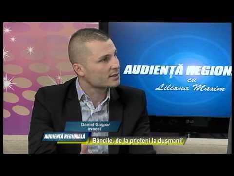 Emisiunea Audiență Regională – Dragoș Drăgănescu și Daniel Gașpar – 21 aprilie 2015