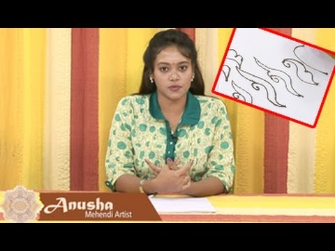 Aracheta Gorinta | Class 04 | Step By Step Easy Mehendi Designs For Beginners