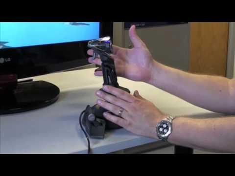 Saitek Cyborg X Flight Stick Demonstration
