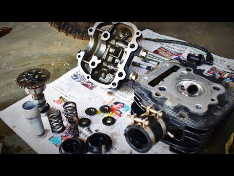 Bajaj Pulsar 125/150/180/220/head valp piston clear full details voice ke saath