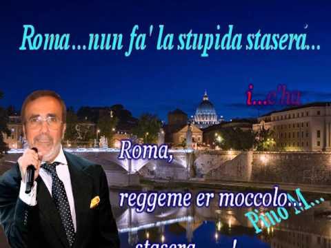 , title : 'Roma nun fa' la stupida stasera Lyrics'