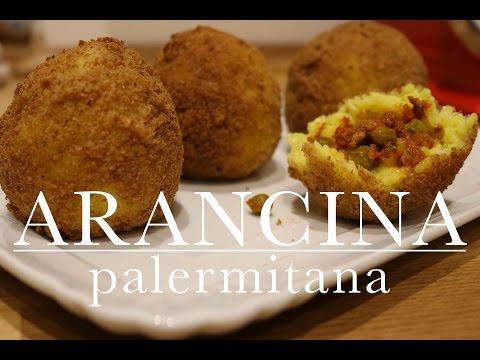 arancina palermitana con carne - ricetta