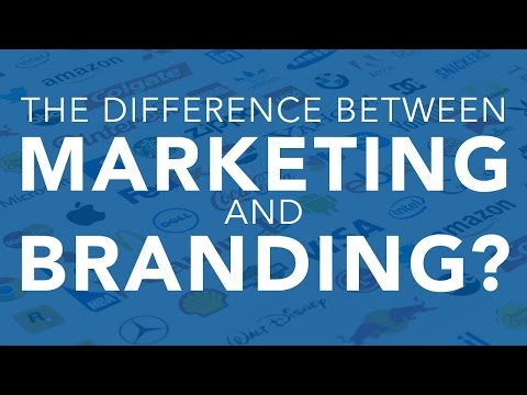 Download The Difference Between Marketing and Branding? HD Mp4 3GP Video and MP3