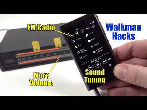Walkman Hacks: Activate FM radio, increase volume and improve the sound