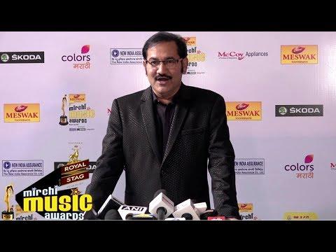 Sudesh Bhosle At Red Carpet Of 6th Mirchi Music Awards Marathi 2018