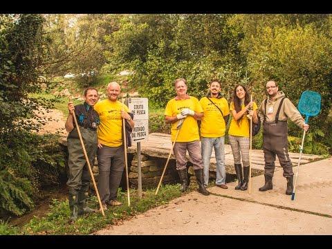 VIII limpeza simultanea dos ríos organizada por proxecto ríos