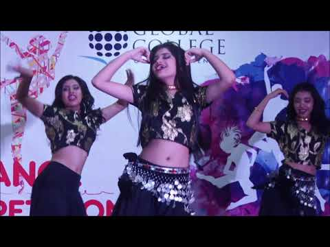 Current Lagla Mashup by Apekshya Dawadi & her group, Dance Competition 2074