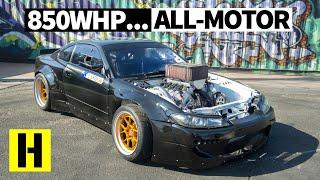 Most Savage N/A V8 Drift Build? Carl Thompson's 850hp Nissan S15