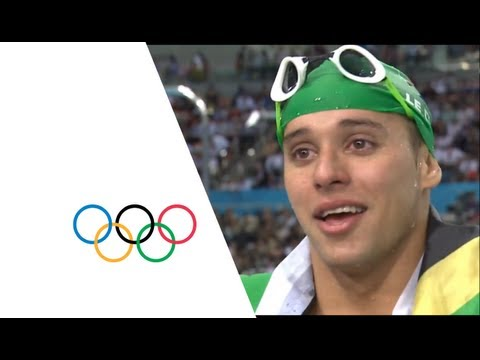 Chad Le Clos Wins 200m Butterfly Gold - Phelps Wins Silver | London 2012 Olympics