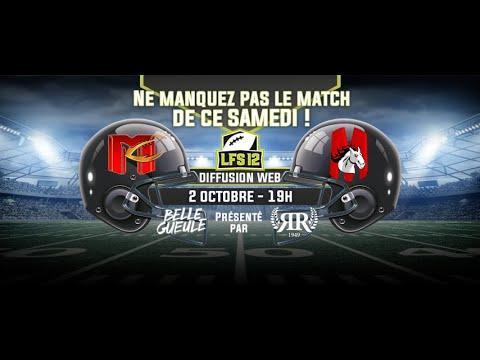 Week 7 LFS12 2021 : Mercenaires vs Mustangs (02/10/21)