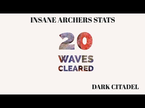 March Of Empires || Dark Citadel Completed || 20 Waves Cleared || Insane Stats