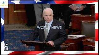 Right After Voting FOR ObamaCare Repeal, John McCain Just Stabbed Trump in the Back Source Photo and Content: ...