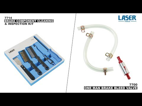 7714 & 7700 | Brake Component Cleaning And Inspection Kit & One Man Brake Bleed Valve