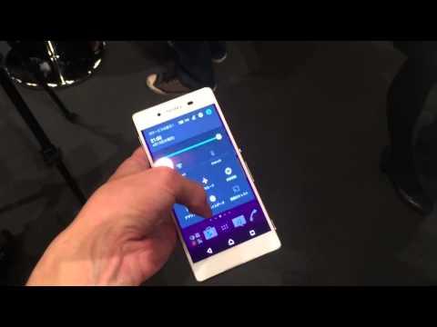Sony Xperia Z4 için ilk video geldi